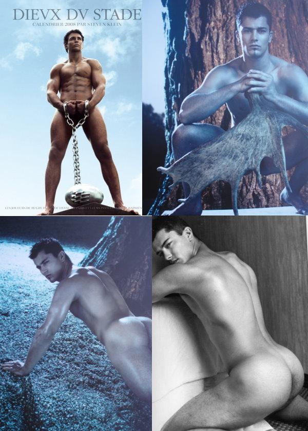 naked Guillaume Bousses