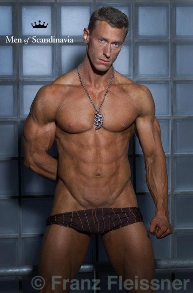 Swedish muscle man nude