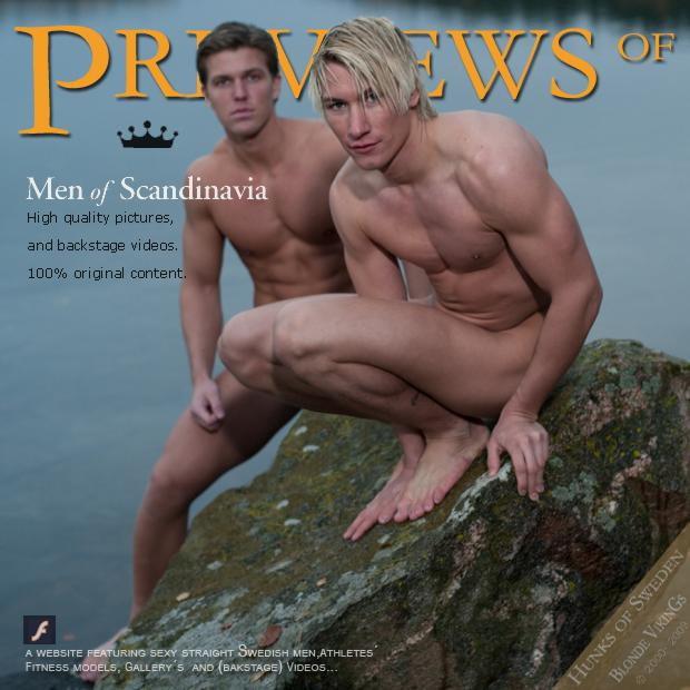 naked swedish athletes