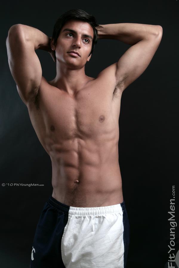 nude sportsmen lacrosse player