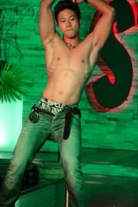 sexy muscle boy striptease