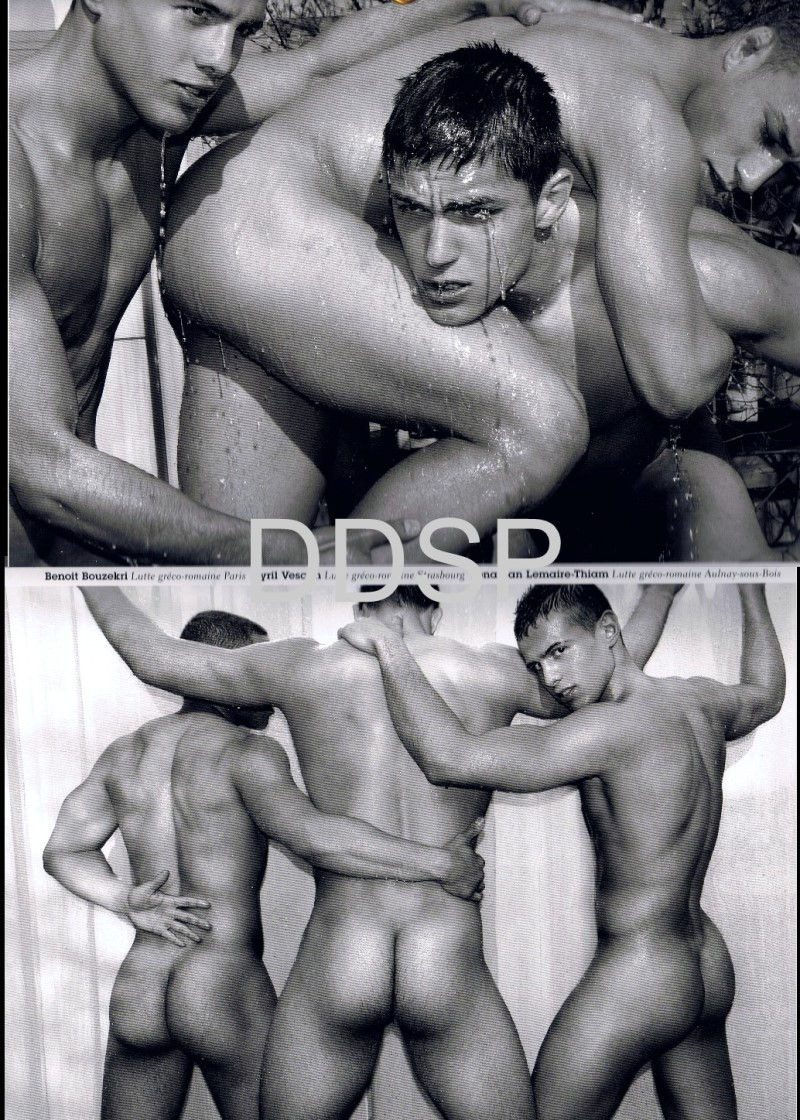 naked french rugby players