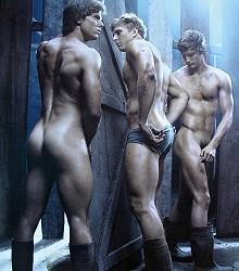 naked sportsmen Dieux du Stade gay erotica