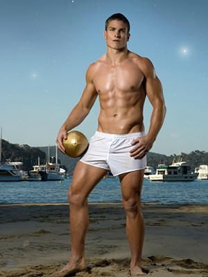 sexy rugby player Matt Ballin