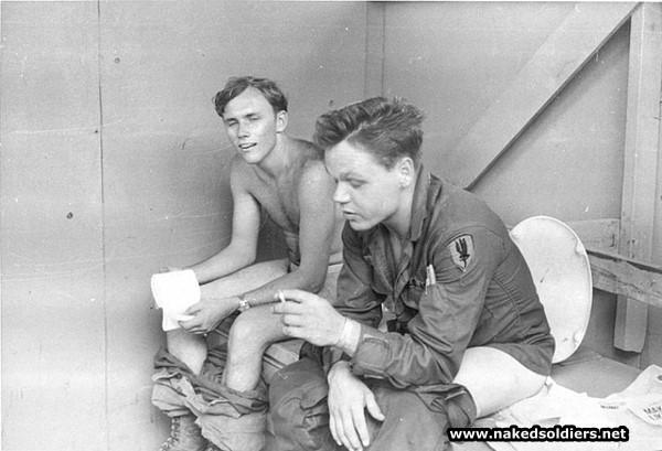 military latrines
