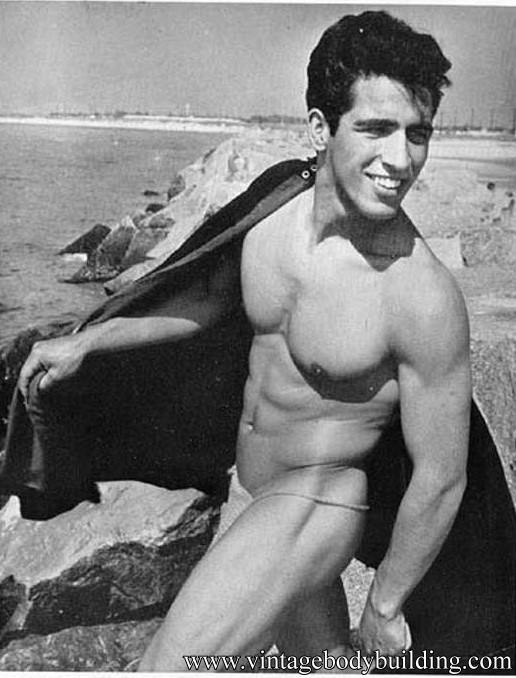 muscle man seaside