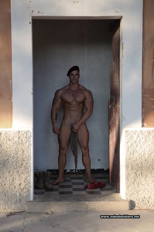 muscle soldier naked