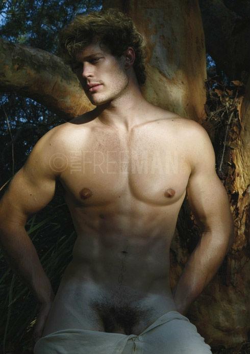 smooth hunk naked