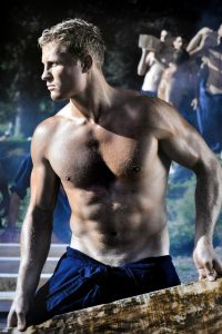 Beautiful muscle guy Dieux du Stade 2013