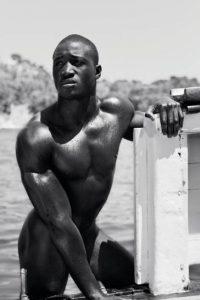 Black sportsman naked Dieux du Stade 2013
