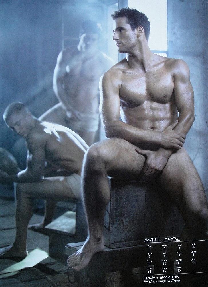 Flavien Basson naked