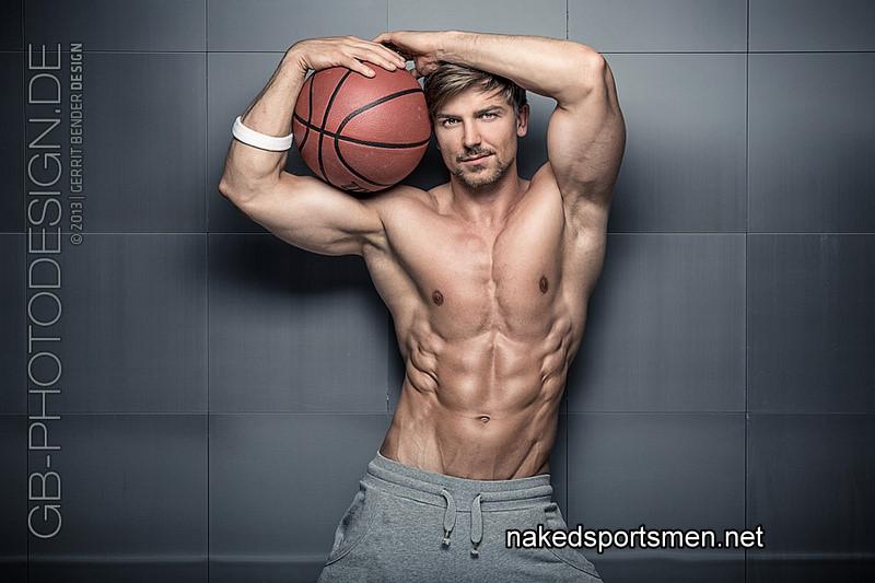 Handsome footballer