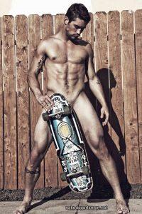 Muscle skater naked