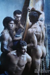 Naked men Dieux du Stade
