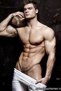 Rugby player nude