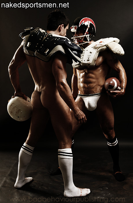 Two rugby player male erotica
