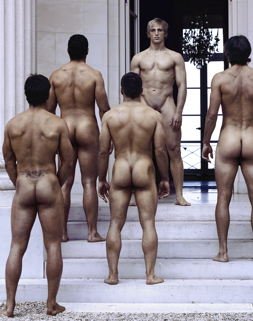 muscle french men naked